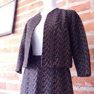 Vintage '50s-1960s Skirt Suit Set